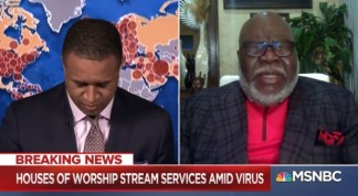 MSNBC Anchor Craig Melvin Reveals Story Behind TD Jakes' 'Totally Unscripted' Viral On-Air Prayer