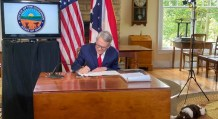 Ohio Gov. Mike DeWine Signs Bill Limiting His Power to Close Churches