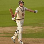 The youngest double-centurion in the County Championship