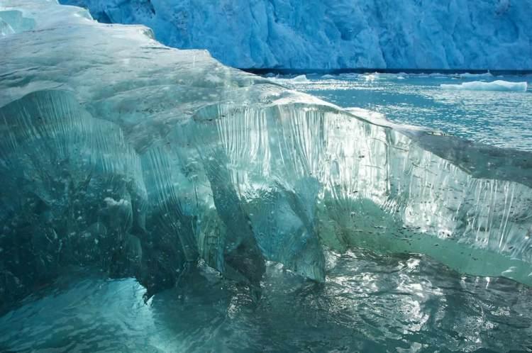Ice in Svalbard