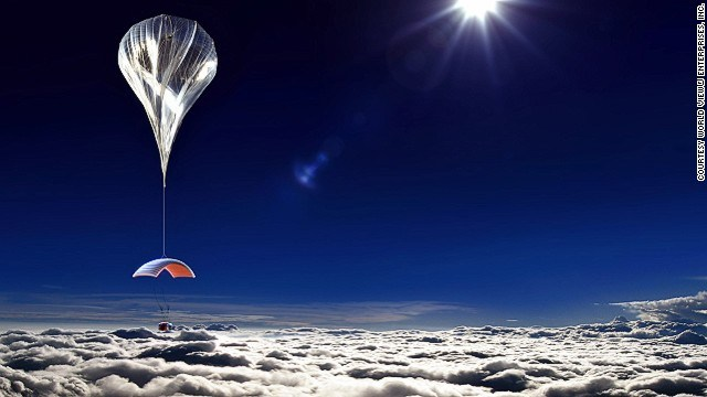 United States Company offering Space Travel of 30 km-high balloon flights 1