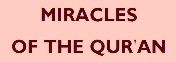 Copy of The Miracles of The Qur'an