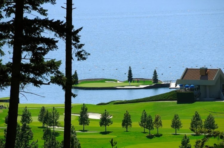 Floating Golf Course at Luxury Coeur d'Alene Resort 2