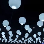 Balloons Embedded with LEDs