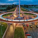 Hovering Roundabout for Cyclists in the Netherlands