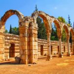Anjar The Ruins City of Lebanon