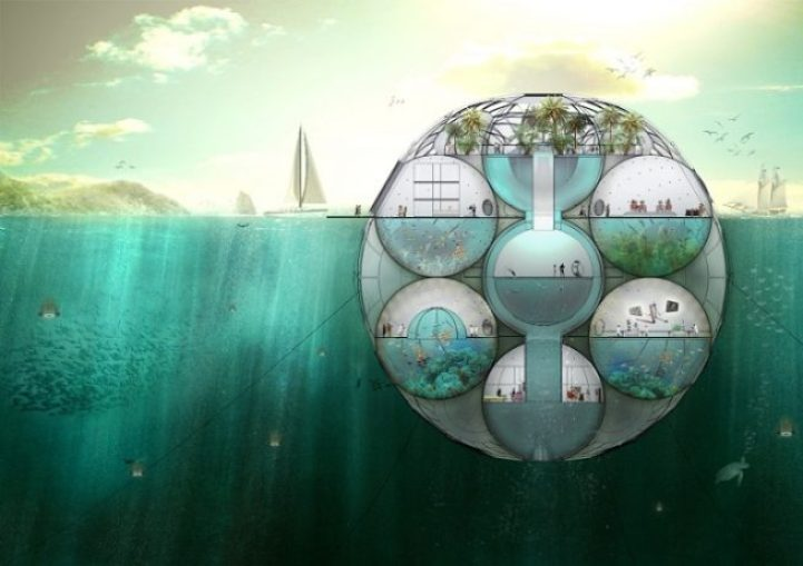 Floating Biodome Absorbs Carbon Dioxide, Emits Oxygen 1