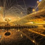 Unbelievable Light Painting Portrait in Seoul Korea