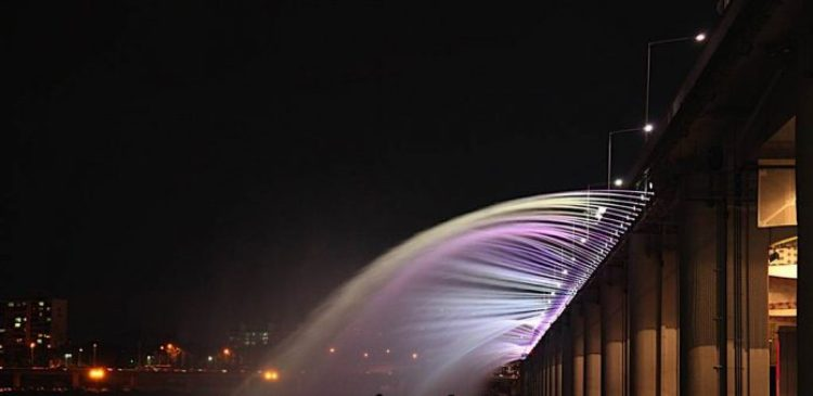 Charismatic Planet Moonlight Rainbow Bridge In Seoul Korea1419