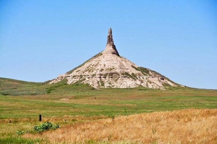 Chimney Rock of Nebraska United States