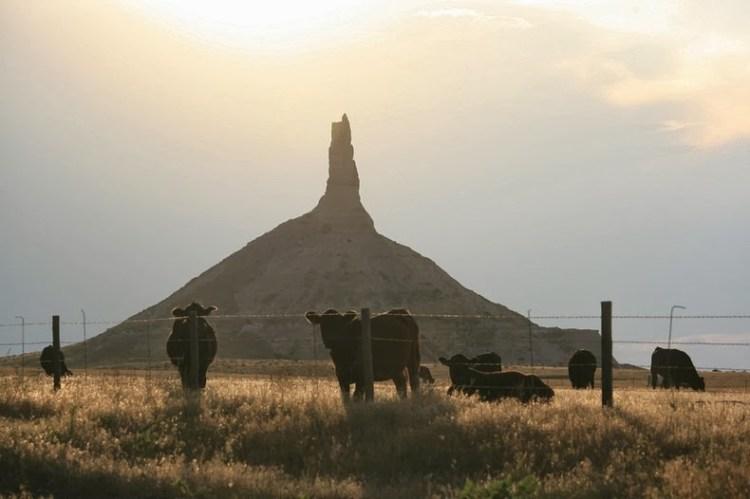 Chimney Rock of Nebraska United States6