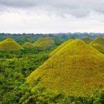 The Beautiful Chocolate Hills of Bohol Philippines