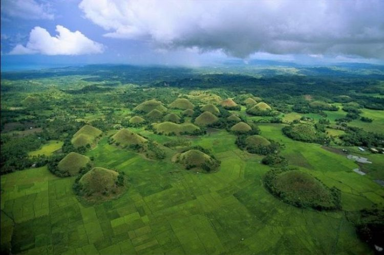 Chocolate Hills of Bohol Philippines0
