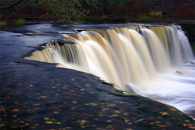 Jagala waterfall Estonia8