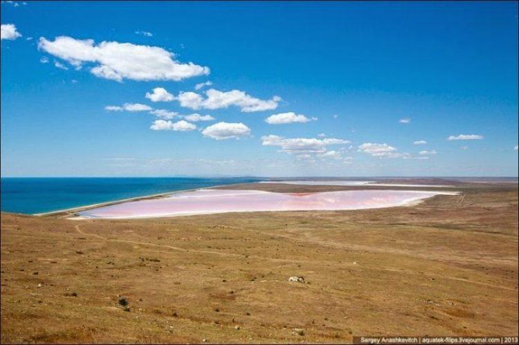 Sivash Salt Lagoons in the Crimean Peninsula2