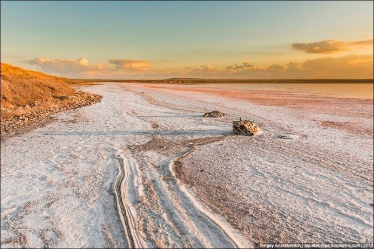 Sivash Salt Lagoons in the Crimean Peninsula4