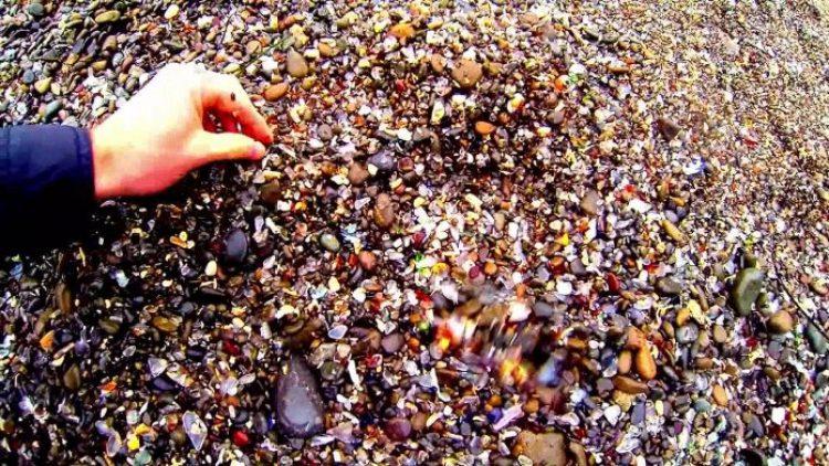 Sparkling Glass Beach of California 21