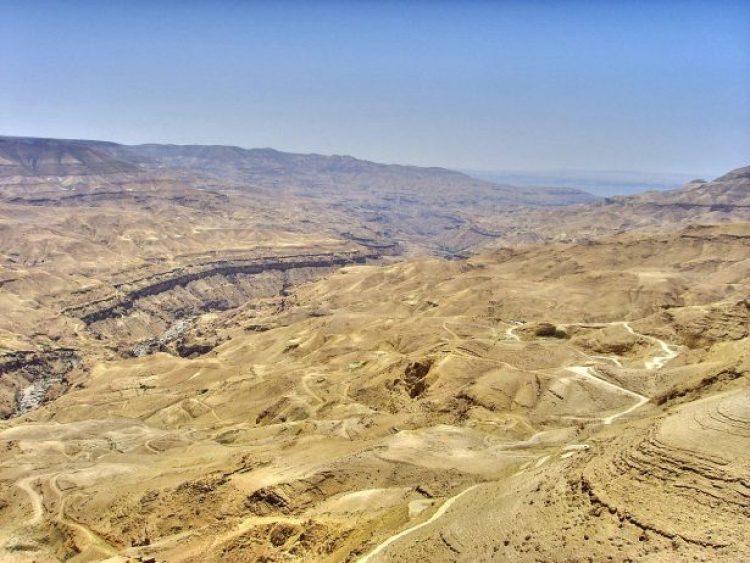 Wadi Mujib Jordan2