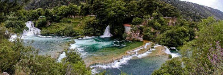 Skradinski buk Waterfall in Croatia1