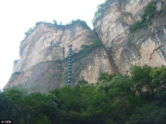 Spiral Staircase in Taihang Mountains, China3