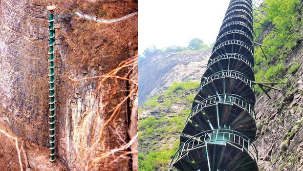 World's Most Dangerous Stairways to Heaven