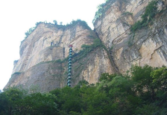 Spiral Staircase in Taihang Mountains, China9