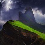 Breathtaking Odle Dolomites Mountain Range of Italy