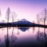 Mount Fuji Surrounded in Glorious Colors by Hidenobu Suzuki