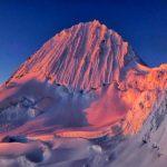 Alpamayo Mountain Peru