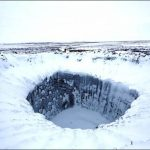 Mysterious Frozen Crater in Northern Siberia