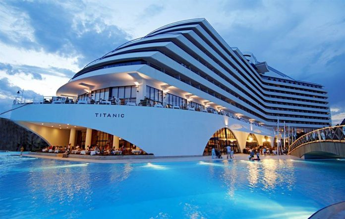Titanic Theme Hotel in Turkey