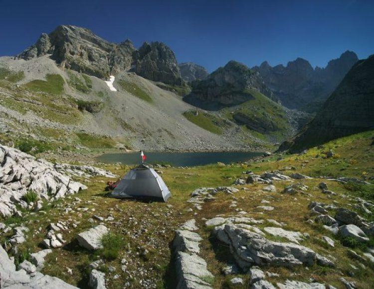 Buni jezerces, 1,800m Prokletije, Albania