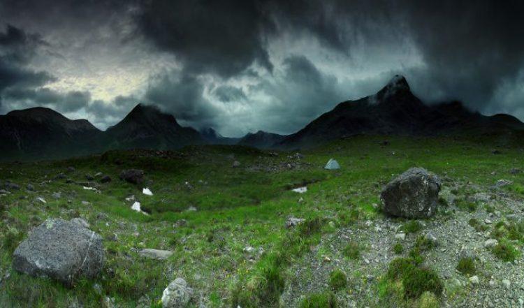 Cuillins Mountains, 600m, Scotland