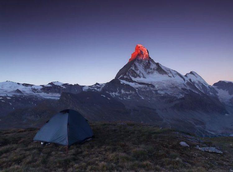 Under Matterhorn, 2,600m Valais Alps, Switzerland