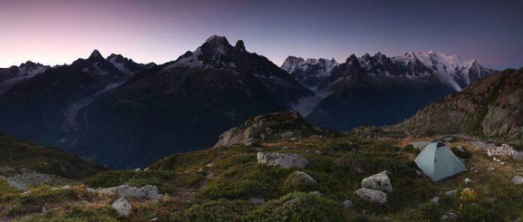 Under Mont Blanc, 2,200m Savoy, Alps, France