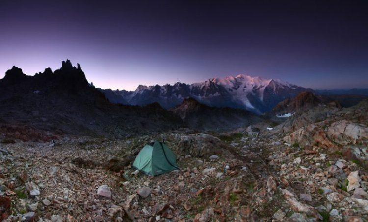 Under Mont Blanc, 2,500m Savoy, Alps, France