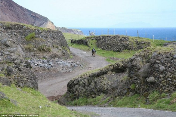Hiking paths and rough roads are plentiful around the small and remote volcanic island
