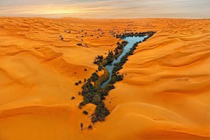 The Lakes of Ubari Sand Sea