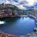The Charming Desoto Falls, of Mentone, Alabama
