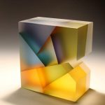 Marvelous Translucent Glass Sculptures That Beautifully Fragment Color and Light