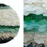 Stunning Sea Glass Sculptures Reflect the Relaxing Qualities of the Ocean