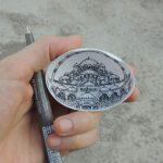 Turkish Artist Recreates Classic Works of Art inside Fragile Cracked Eggshells