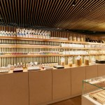Japanese Art Store Lines Walls with Every Pigment Color