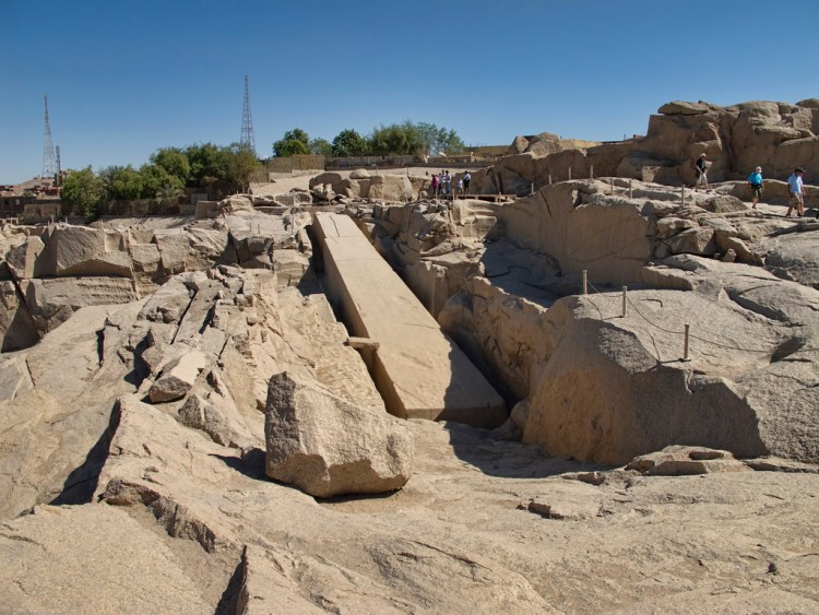 The Unfinished obelisk was constructed by Hatshepsut, the queen of Thutmose II, who ruled Egypt as a Pharaoh from 1478 to 1458 B.C., jointly with Thutmose III, who was then only a child.