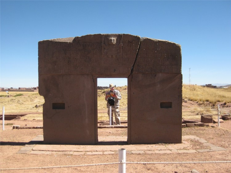 The Gate of Sun is almost 9.8ft tall and 13 ft wide and constructed single piece of stone.