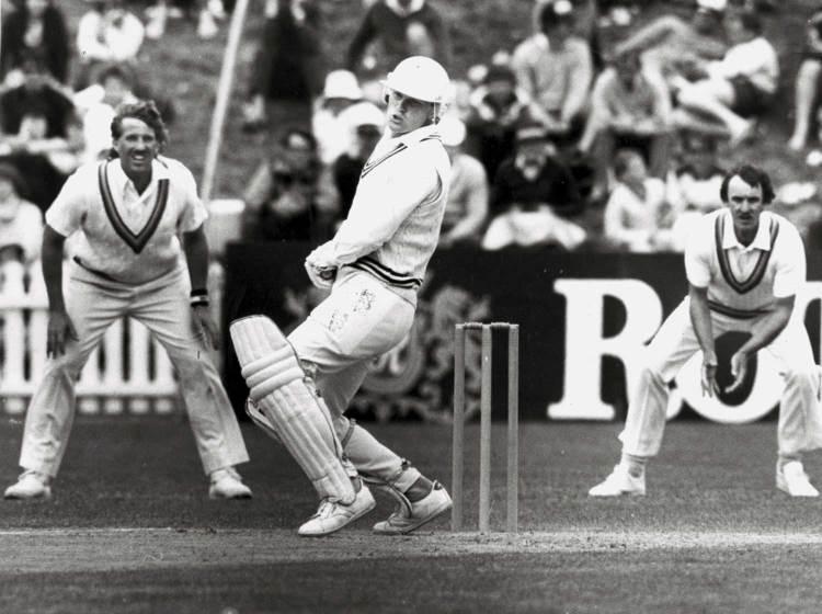 Martin Crowe is still acknowledged as New Zealand's finest batsman.