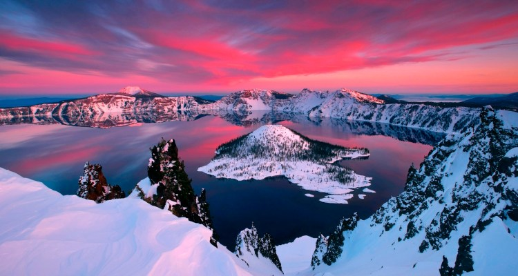"Crater Lake is also known ""Old Man of the Lake"" is a caldera lake located in south Central Oregon in the western United States."
