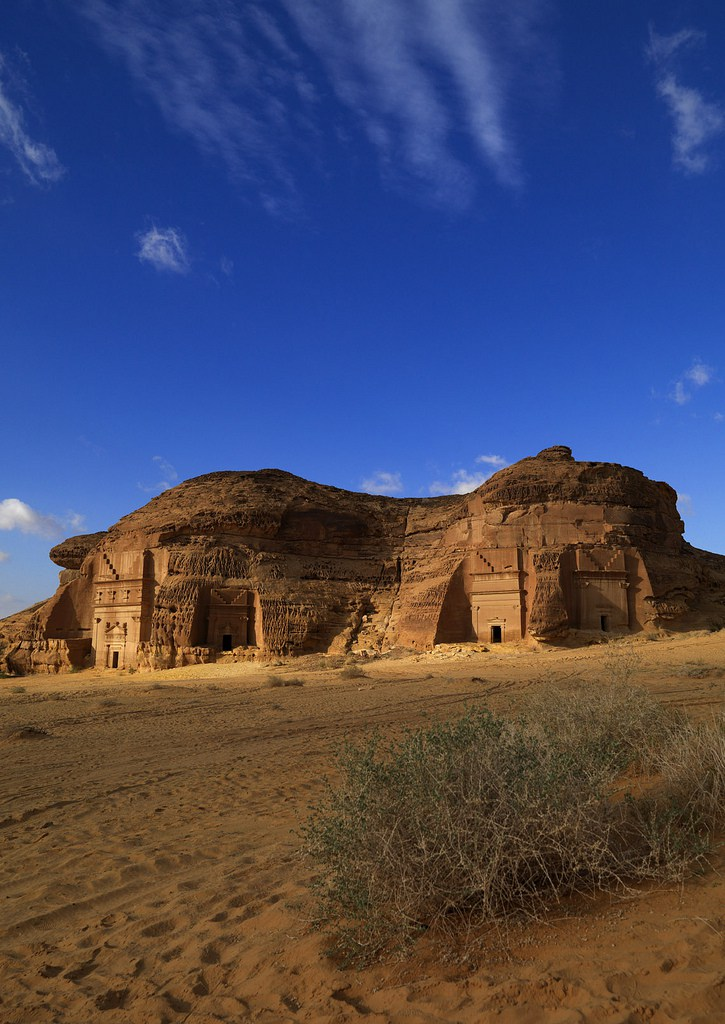 In 2008, Mada'in Saleh has become Saudi Arabia First UNESCO World Heritage site, selected for its well-preserved remains from late antiquity,