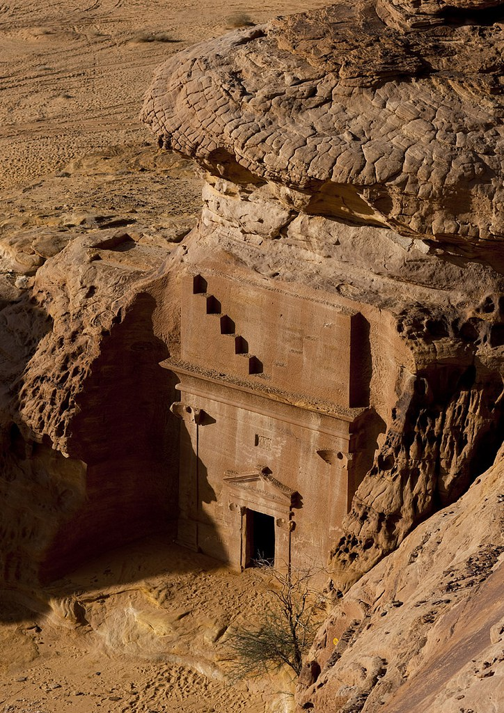 Mada'in Saleh is gleaned from the inscriptions displayed on the site, which comprises of more than 100 decorated tombs and 1000 non-monumental graves, bearing both inscriptions and cave drawings.