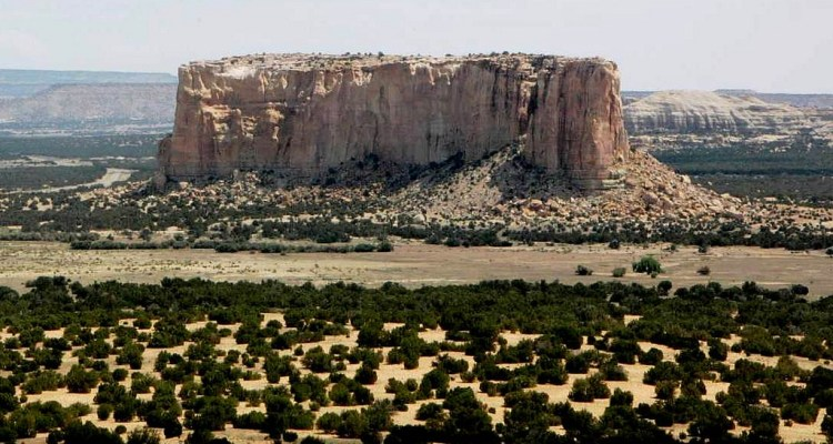 It was home of the Acoma people until a massive landslide and severe storm completely demolished the only approach.